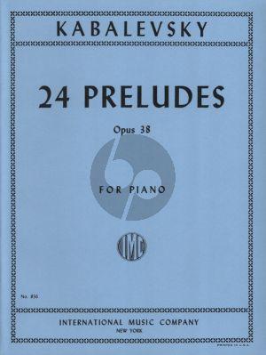 Kabalevsky 24 Preludes Op.38 Piano