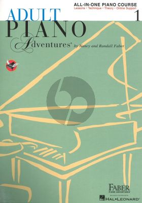 Faber Adult Piano Adventures All-In-One Lesson Book 1