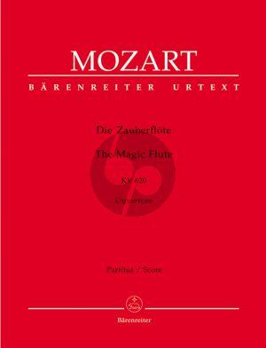 Mozart Die Zauberflote Ouverture KV 620 Partitur (Gruber-Orel) (Urtext der Neuen Mozart-Ausgabe)