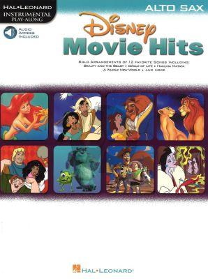 Movie Hits for Alto Sax (Bk-Audio Access Code)