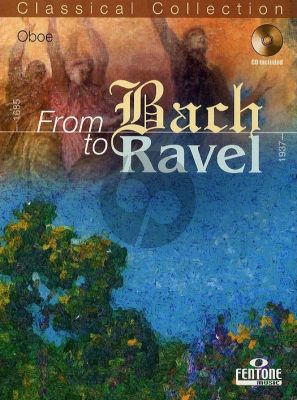 From Bach to Ravel for Oboe (Bk-Cd) (Peter Manning)
