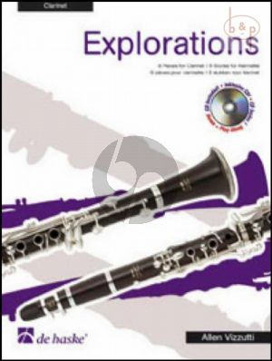 Explorations (8 Pieces for Clarinet)