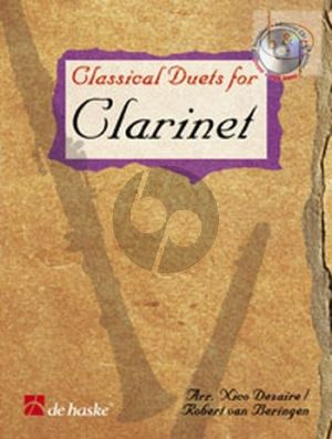 Classical Duets for Clarinet (Bk-Cd) (Dezaire-Beringen) (A Journey through the History of Classical Music)