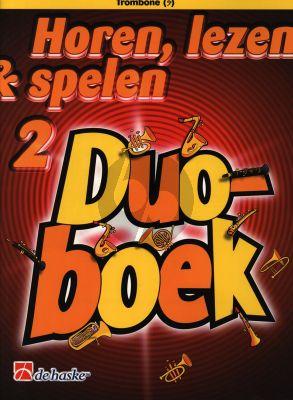 Horen, Lezen & Spelen 2 Duoboek Trombone Bassleutel
