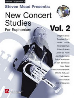 Mead New Concert Studies Vol.2 Euphonium (TC) (Bk-Cd)