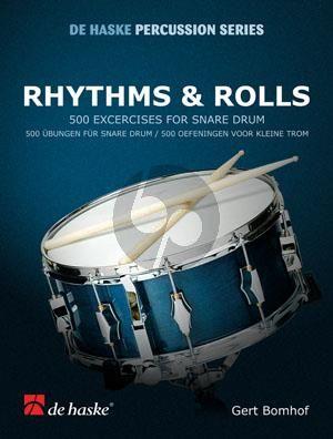 Bomhof Rhythms & Rolls for Snaredrum (500 Exercises)