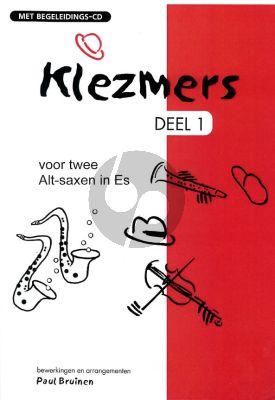 Klezmers Vol.1 (2 Altsaxen in Es) (Bk-Cd)