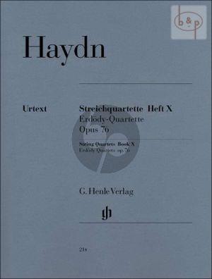Streichquartette Vol.10 Op.76 (Erdody-Quartette) (Stimmen)