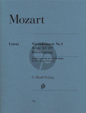 Mozart Konzert No.1 B-Dur KV 207 (Henle-Urtext) (Seiffert/Petrenz/Guntner)