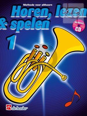 Kastelein Horen Lezen & Spelen Vol.1 Althoorn in Eb (Bk-Cd)