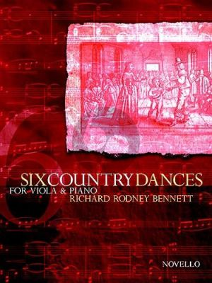 Bennett 6 Country Dances for Viola and Piano