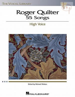 Quilter 55 Songs High Voice (edited by Richard Walters)