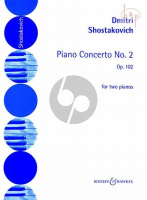 Concerto No.2 Op.102 Piano and Orchestra for 2 Piano's