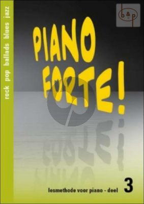 Piano Forte! Lesmethode voor Piano Vol.3