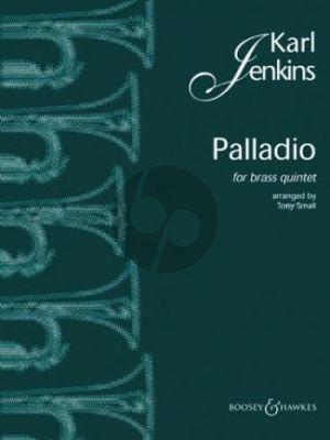 Jenkins Palladio brassquintet score-parts (arr. Tony Small)