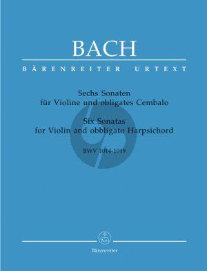 Bach 6 Sonaten BWV 1014 - 1019 (Gerber/Wollny) (Urtext )