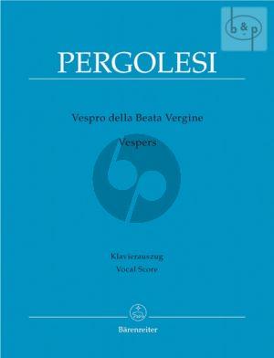 Vespro della Beata Vergine (Vocal Score)