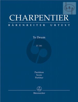 Te Deum H.146 (Solists-SATB-Orch.) (Score)