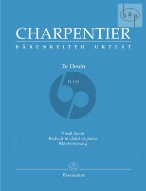 Te Deum H.146 (Soloists-SATB-Orch.) (Vocal Score)