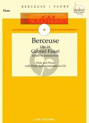 Berceuse Op.16 (Flute-Piano) (Bk-Audio Online)