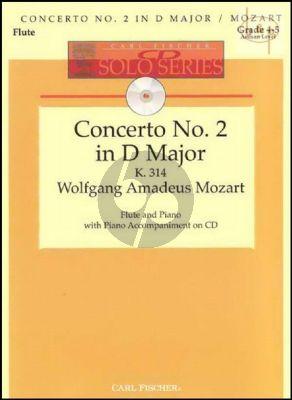 Concerto No.2 D-major KV 314 (Flute-Piano) (Bk-Audio-online) (edited by Donald Peck)