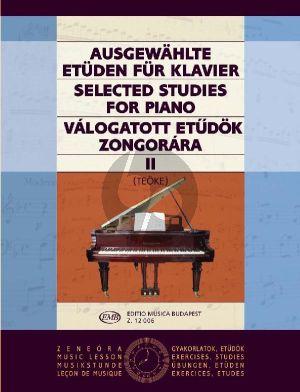 Selected Studies Vol. 2 for Piano