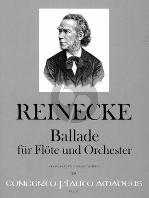 Reinecke Ballade Op. 288 Flöte und Orchester (Klavierauszug) (Yvonne Morgan)