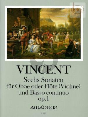 6 Sonaten Op.1 Oboe-BC