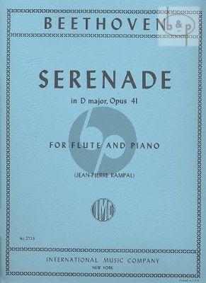 Serenade D-major Op.41