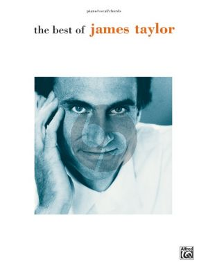 The Best of James Taylor Piano-Vocal-Guitar