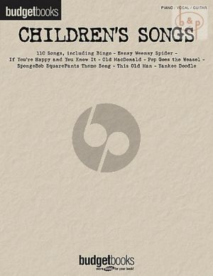 Budgetbooks: Children's Songs