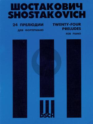 Shostakovich 24 Preludes Op.34 Piano solo