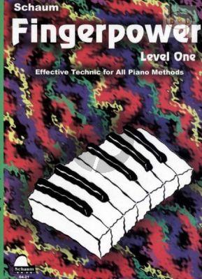 Schaum Fingerpower Vol.1 Piano