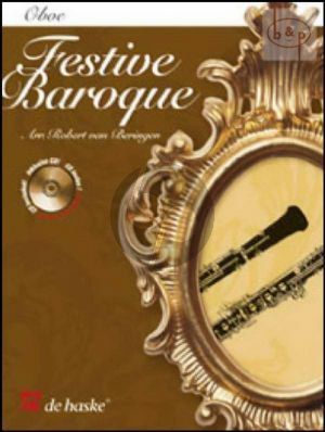 Festive Baroque (Oboe-Organ[Piano]) (Book with Play-Along and Demo CD)