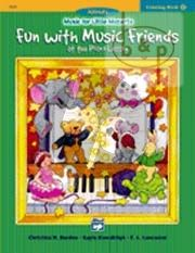 Music for Little Mozarts vol.2 Coloring Book