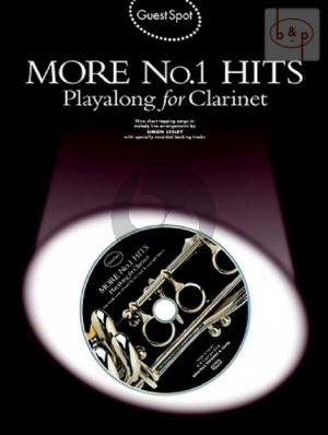 Guest Spot More No.1 Hits Playalong (Clarinet) (Lesley)