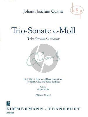 Trio Sonata c-minor QV2 Anh.5