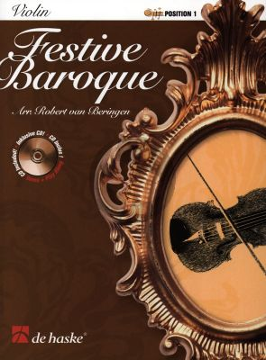 Beringen Festive Baroque for Violin Position 1 Book with Cd
