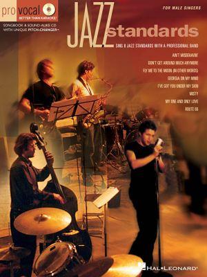 Jazz Standards Pro Vocal Men's Edition Volume 2