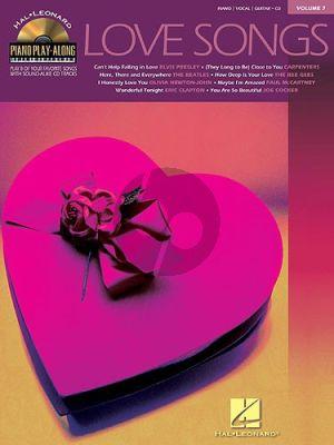 Love Songs (Piano Play-Along Series Vol.7)