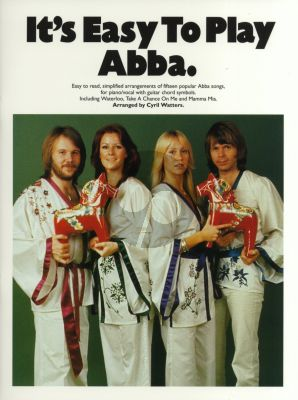 It's Easy to Play Abba (Piano-Vocal-Chords) (edited by Cyril Watters)