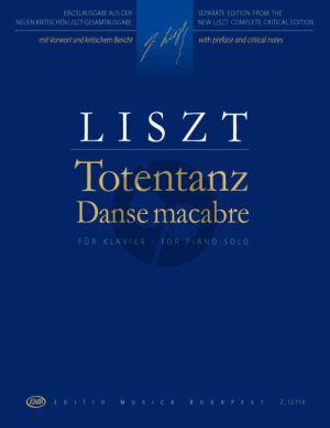 Liszt Totentanz (Danse Macabre) Piano solo (R 188, SW/SH 525, NG2 A62)