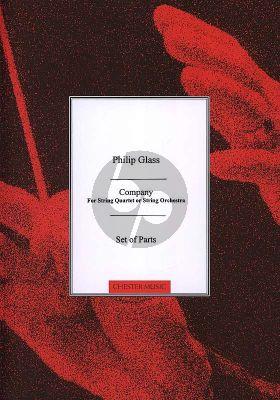 Glass String Quartet No.2 'Company' Set of Parts
