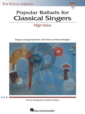Popular Ballads for Classical Singers High Voice