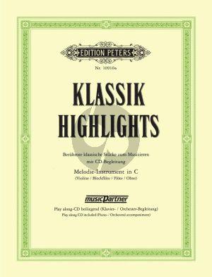 Klassik Highlights (Bk-Cd) (C Instruments