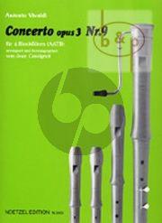 Concerto Op.3 No.9 (RV 230) (AATB)
