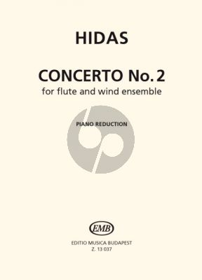 Concerto No.2 (Ohio Concerto) Flute and Wind Band Edition for Flute and Piano