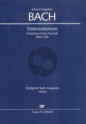 Bach Osteroratorium BWV 249 Kommt, eilet und laufet Soli-Chor-Orch. Studienpart. (Ulrich Leisinger)