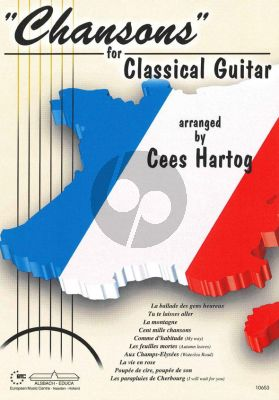 Hartog Chansons for Classical Guitar