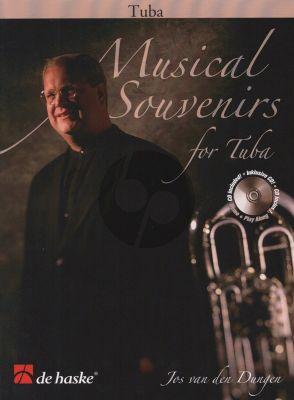 Dungen Musical Souvenirs for Tuba in C (10 Original Pieces) Book with Cd (Robert van Beringen)